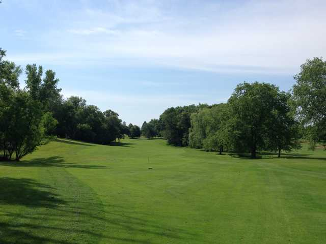 View of the 7th hole at Stillwater Oaks Golf Course