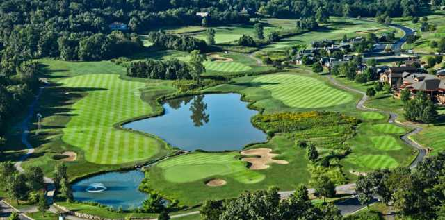 Aerial view from Old Kinderhook Golf Course