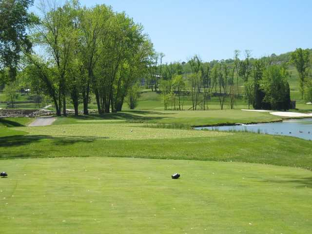 A view from a tee at Olde Stonewall Golf Club