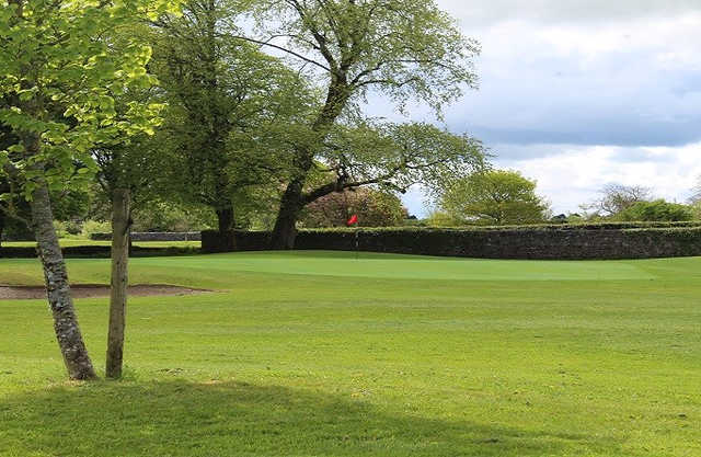 A view of a green at Ballinrobe Golf Club