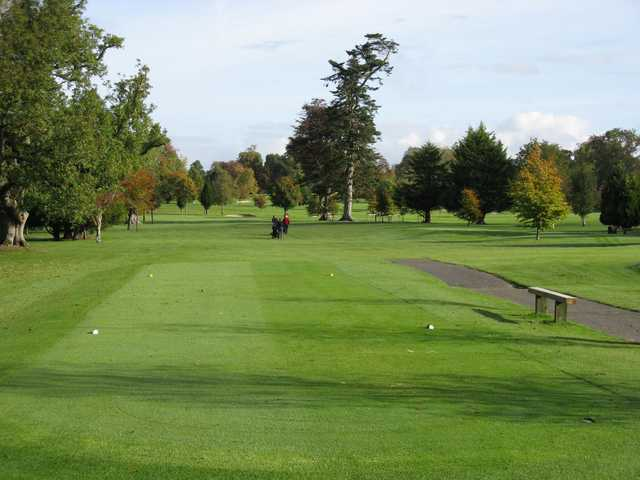A view from a tee at Beech Park Golf Club