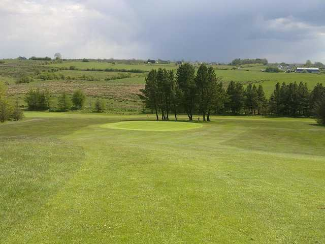 A view of green #2 at Boyle Golf Club