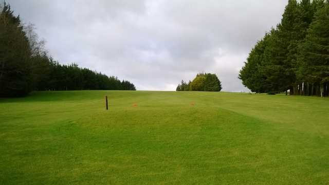 A view from a tee at Boyle Golf Club