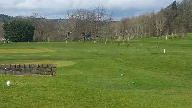 A view from tee #18 at Cahir Park Golf Club