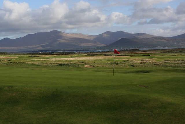 A view of hole #9 at Ceann Sibeal (Dingle) Golf Club