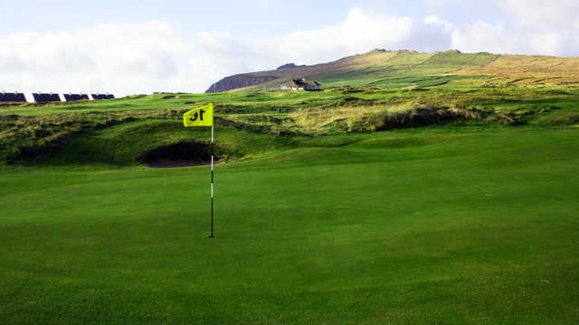 A view of green #13 at Ceann Sibeal (Dingle) Golf Club