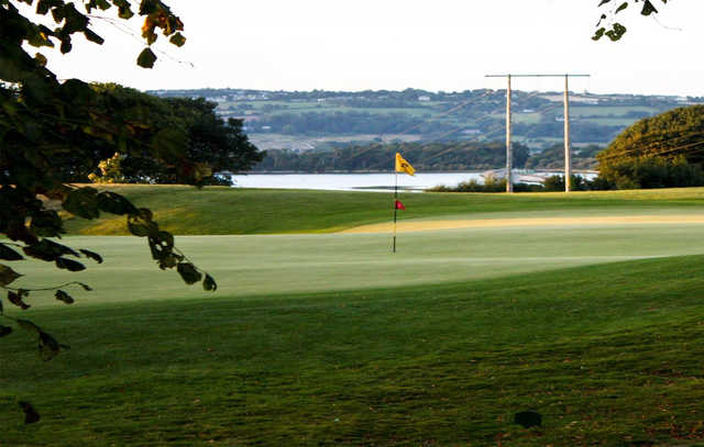 A view of a hole at Cobh Golf Club
