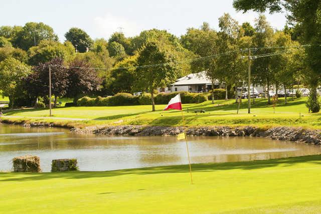 A view of a hole at Raffeen Creek Golf Club