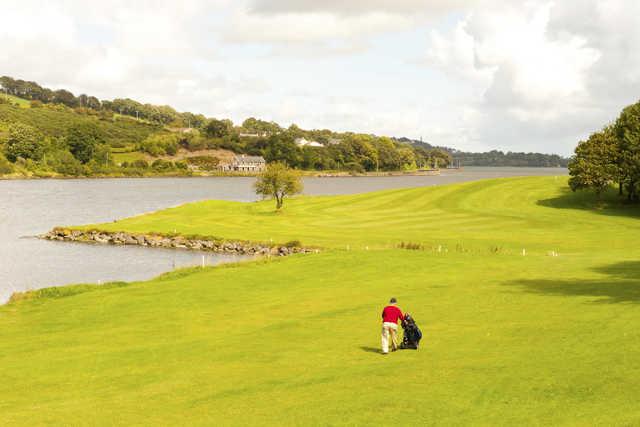 A view of a fairway at Raffeen Creek Golf Club
