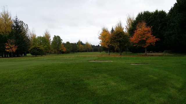 A fall day view from Tuam Golf Club