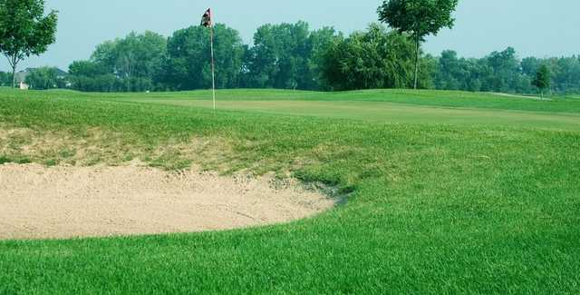 A view of a hole at Broken Arrow Golf Club