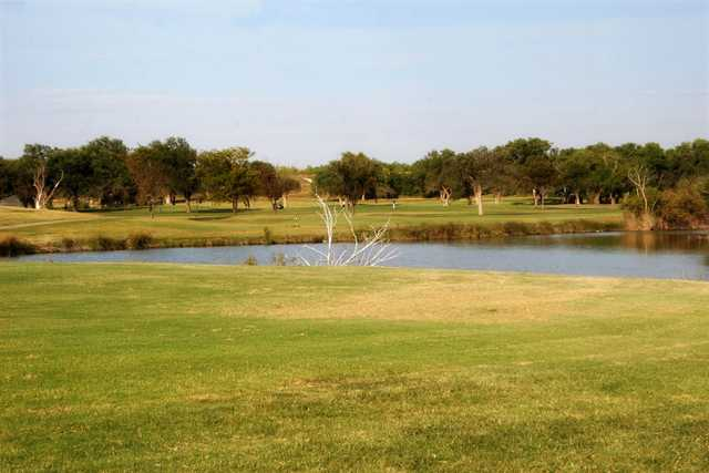 A view over the water from Meadowbrook Golf Complex