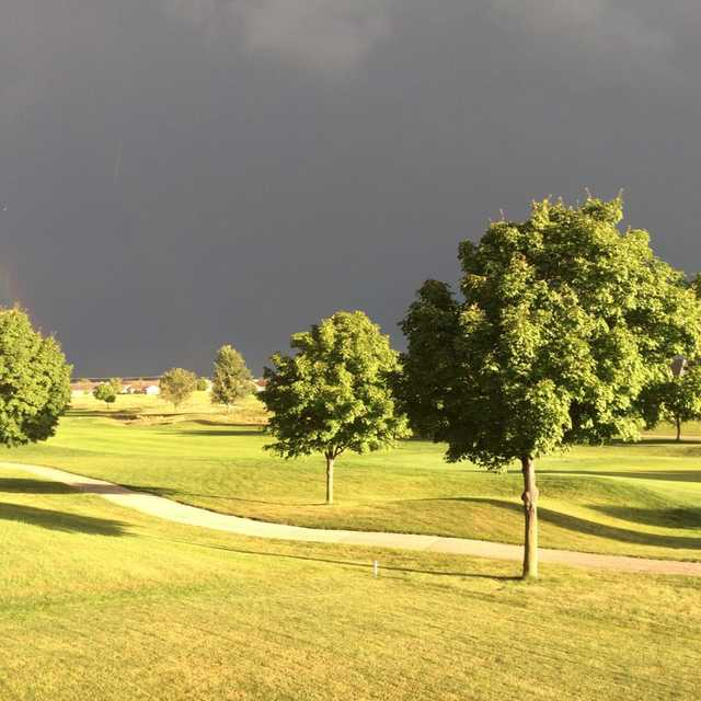 A view from Hunters Ridge Golf Course
