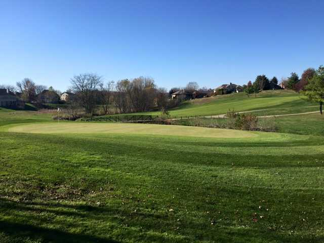 A view of a green at Piper Glen Golf Club