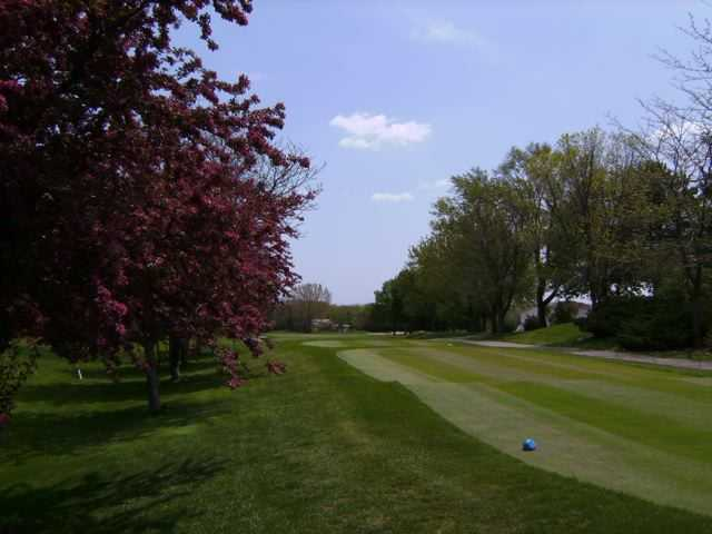 A view from a tee at Midlane Country Club