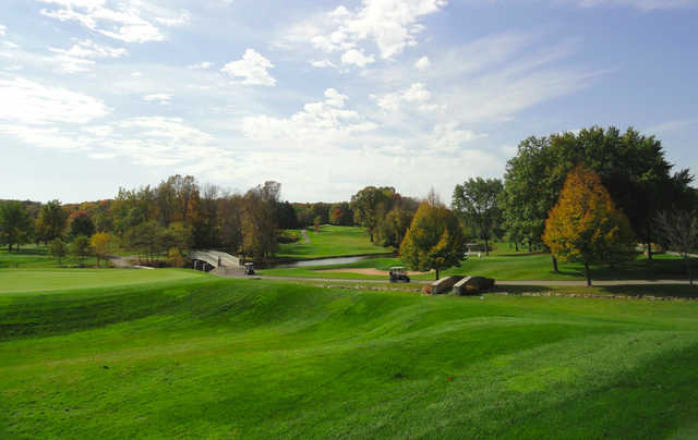 A view from Oneida Golf & Country Club