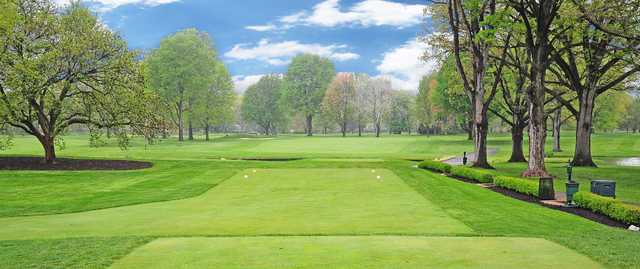 A view from a tee at Highland Golf & Country Club