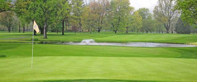 A view of a hole at Highland Golf & Country Club