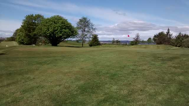 A view of a green at Lochgelly Golf Club
