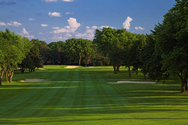 A view from fairway #1 at University Club of Milwaukee.