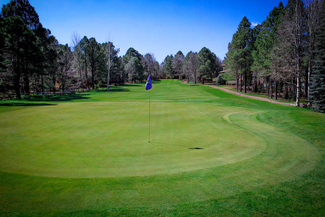 A view of hole #7 at Pinetop Lakes Golf & Country Club