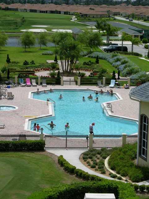 A view from Lake Ashton Golf Club
