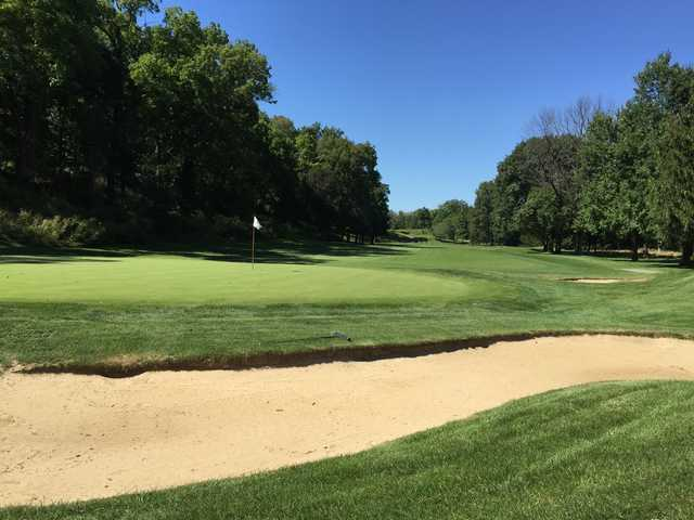 A view of hole #5 at Championship from Columbus Country Club