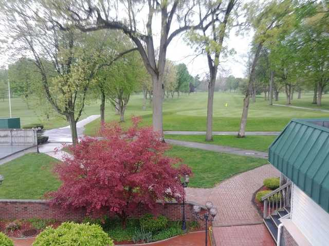 A view from the clubhouse at Christiana Creek Country Club
