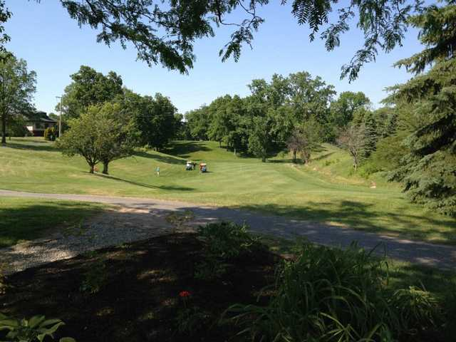 A sunny day view from Eagle Rock Golf Club