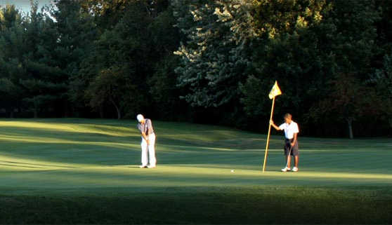 A view of a green at Maketewah Country Club