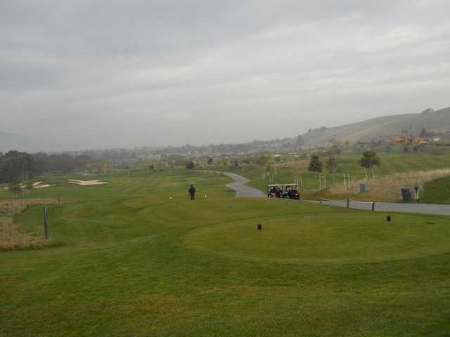 A cloudy view from Callippe Preserve Golf Course