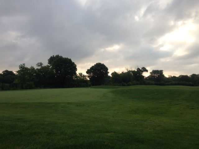 A view from Marquette Park Golf Course