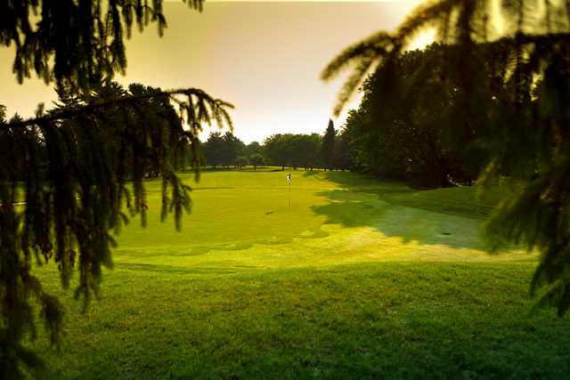 A view of a green at Nakoma Golf Club