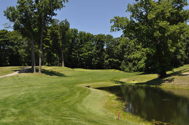 A view from a tee at Pottawattomie Country Club
