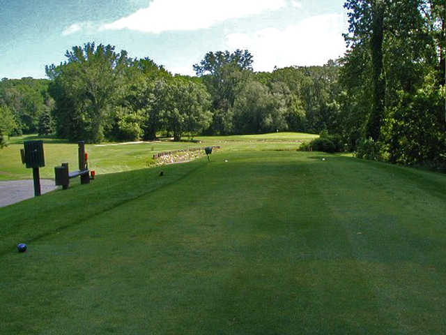 A view from tee #3 at Pottawattomie Country Club