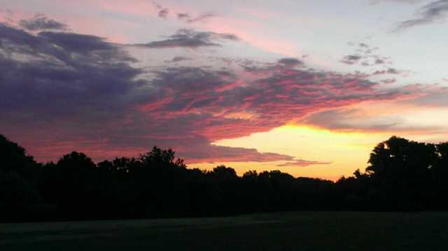 A morning view from Rock Spring Golf Course