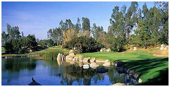 A view of the 6th hole at Mt. Woodson Golf Club