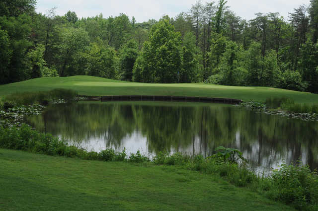 A view of hole #5 at Lee's Hill Golf Club