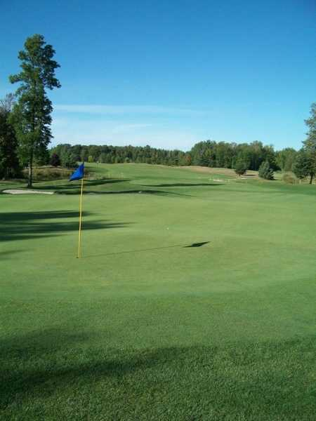 A view of hole #2 at Sunrise Nine from Saugeen Golf Club