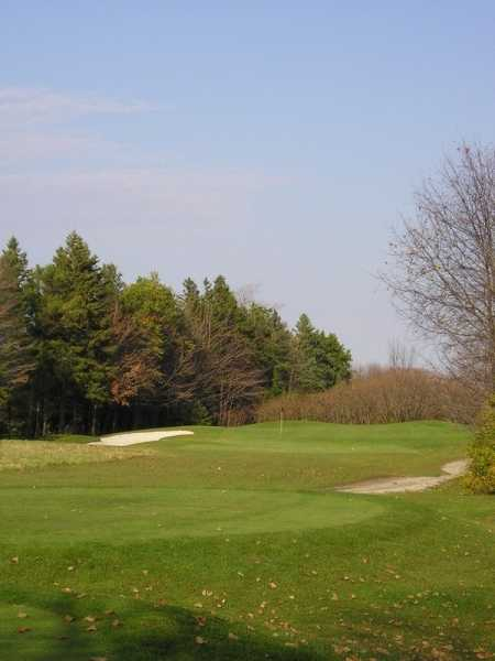 A view from the 5th tee at Sunrise Ninefrom Saugeen Golf Club