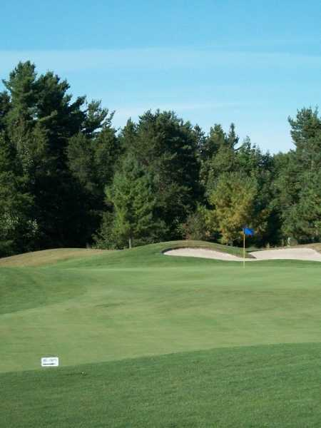 A view of green #1 at Sunrise Nine from Saugeen Golf Club