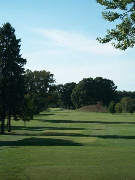 A view from tee #1 at Sunset Nine from Saugeen Golf Club