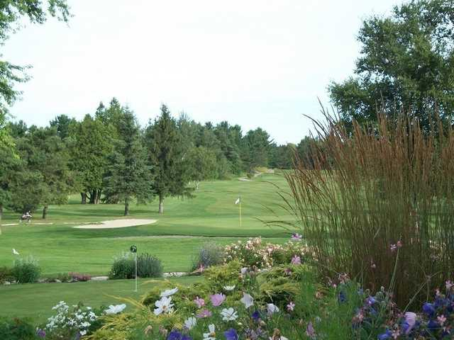 A view of the 9th hole at Legacy Nine from Saugeen Golf Club