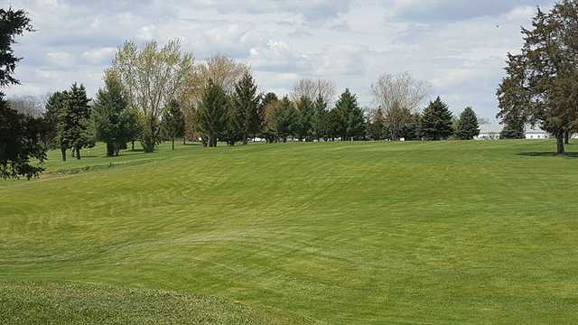 A view from a fairway at Lake Beulah Country Club