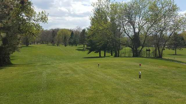 A view from a tee at Lake Beulah Country Club