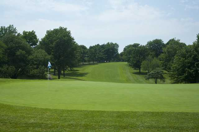 A view of hole #4 at Blue Hills Country Club