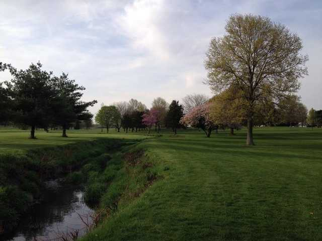 A spring day evening from Woodlawn Country Club