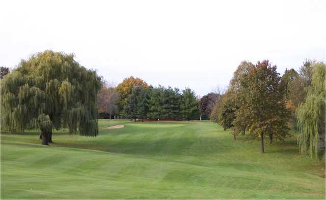 A view from a fairway at The Freeport Club