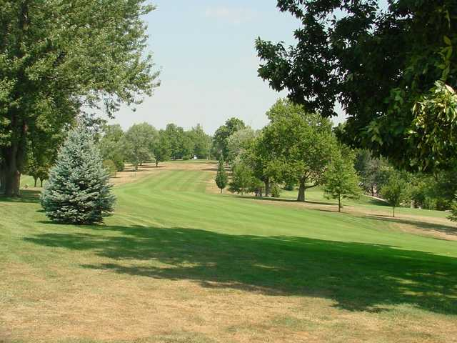 A sunny day view from Hannibal Country Club