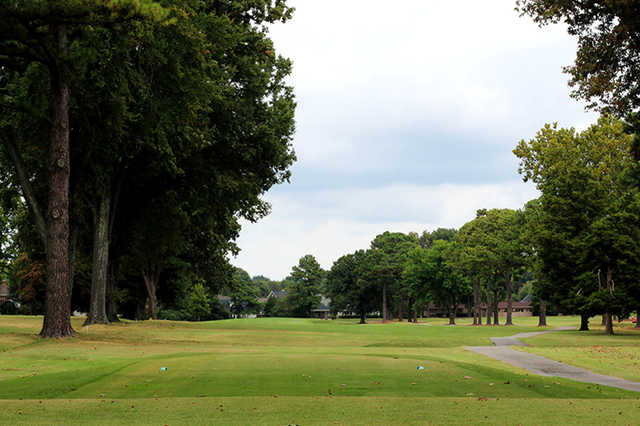 A view from a tee at Jackson Country Club